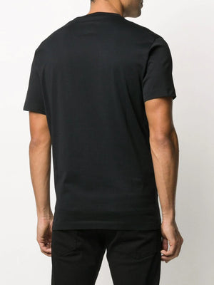 DSQUARED2 multicolour logo t-shirt black - Maison De Fashion