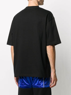 BALENCIAGA Circle BB Logo T-shirt Black