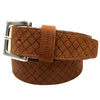 Hugo Boss Jemmino Woven Leather Belt In Brown | Hugo Boss