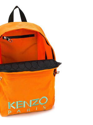 KENZO embroidered tiger backpack orange - Maison De Fashion