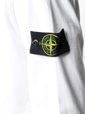 Stone Island long sleeve t-shirt white