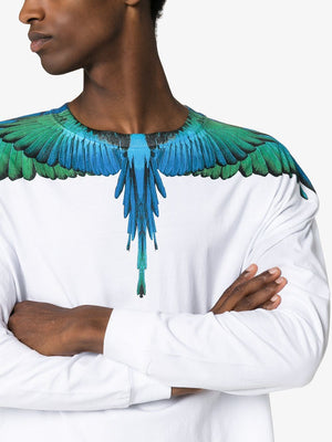 Marcelo Burlon Wings Long sleeve T-Shirt - Maison De Fashion