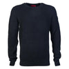 Hugo Knit Jumper Black - Maison De Fashion