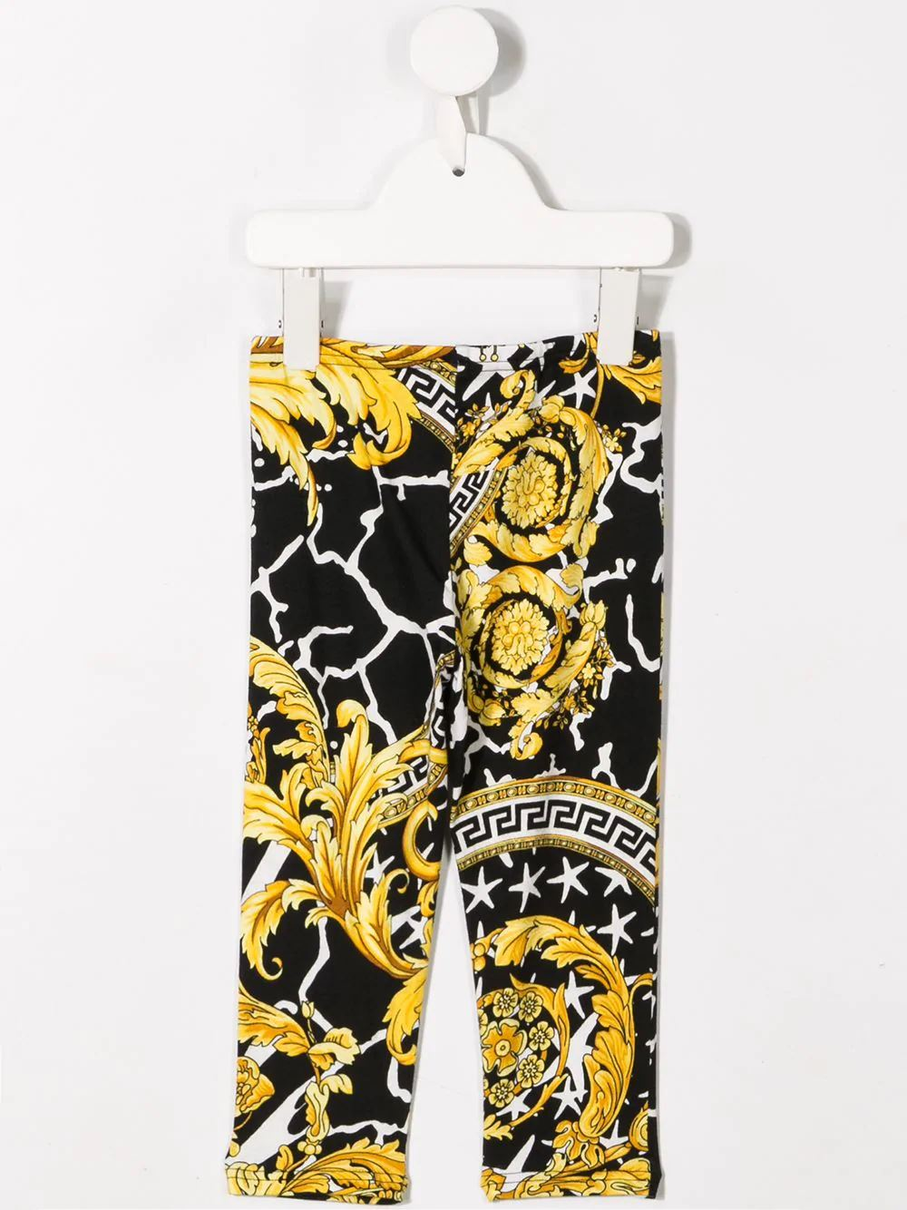 YOUNG VERSACE Barocco print trousers - Maison De Fashion