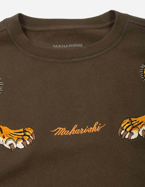 Maharishi Tiger Style Crew Sweat | Maison De Fashion