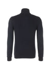 Hugo Boss Slim Fit Cotton Sweater In Navy | Maison De Fashion