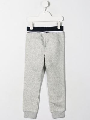 BOSS KIDS logo print track pants - Maison De Fashion