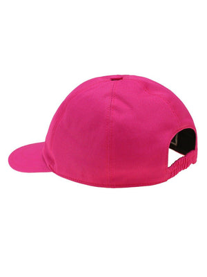 VERSACE KIDS Logo Patch Baseball Cap Pink - Maison De Fashion