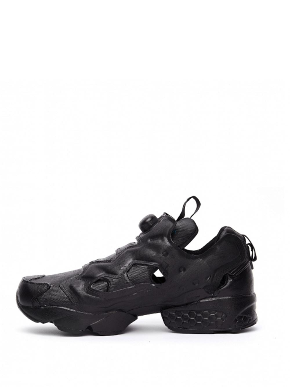 VETEMENTS Reebok Hand Painted Pump Black - Maison De Fashion