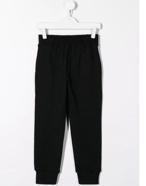 NEIL BARRETT KIDS lightening bolt track trousers - Maison De Fashion