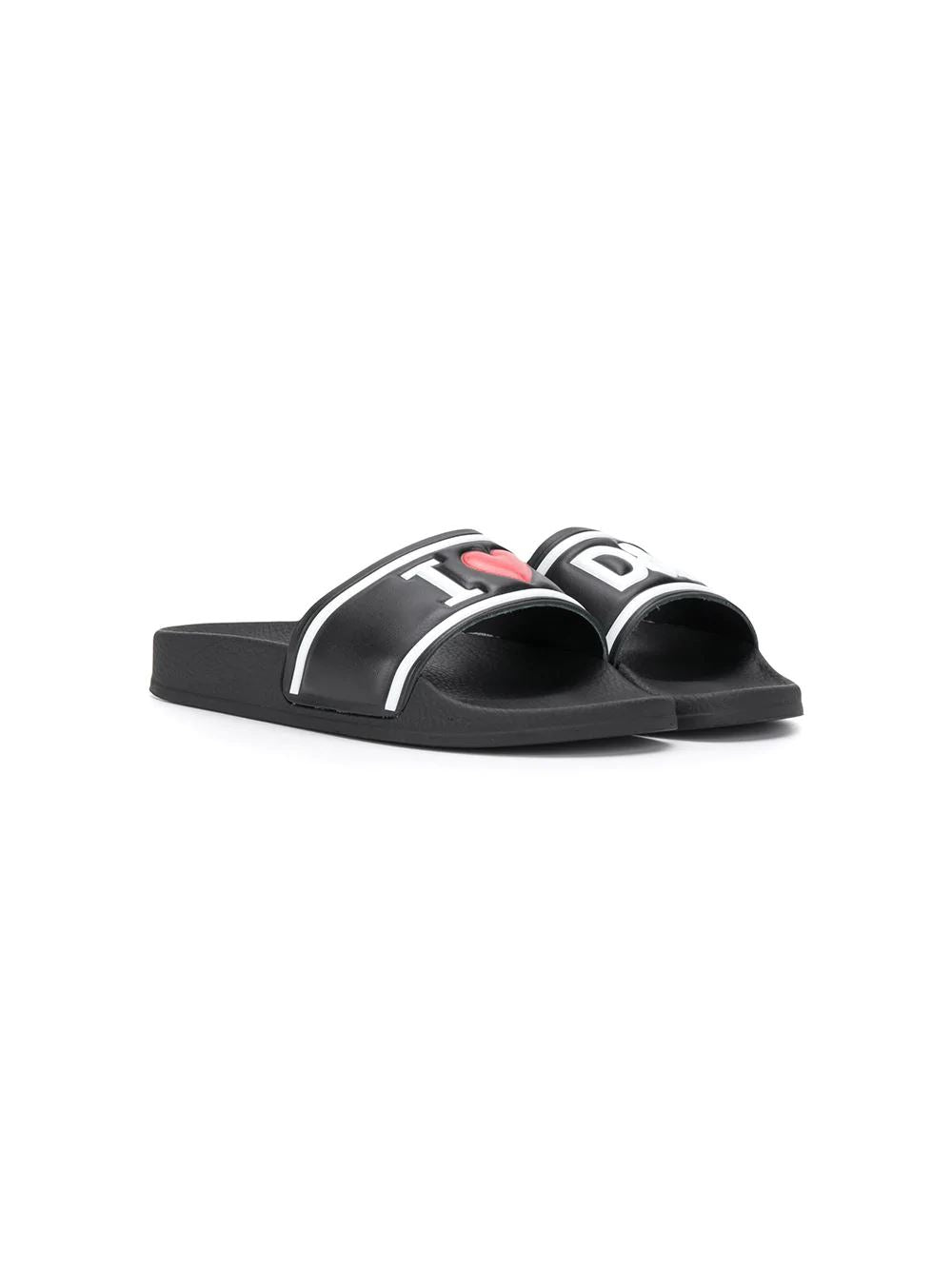 Dolce & Gabbana Logo Sliders - Maison De Fashion