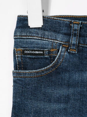 Dolce & Gabbana Kids Slim-Fit Jeans - Maison De Fashion