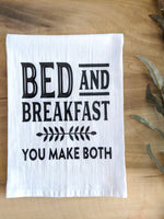 Bed and Breakfast Dish Towel