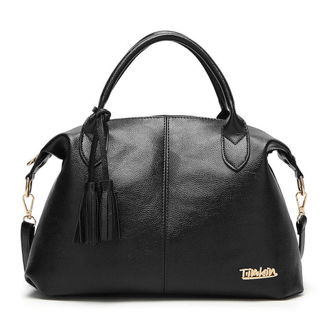 Casual PU Leather Female Handbag