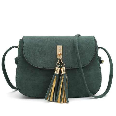 Women Crossbody Bag Tassel