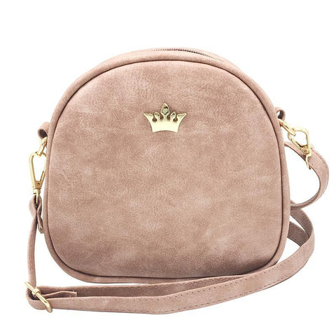 Crossbody Mini Bag Female Crown