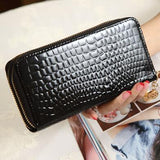 Luxury Wallet Double Zipper