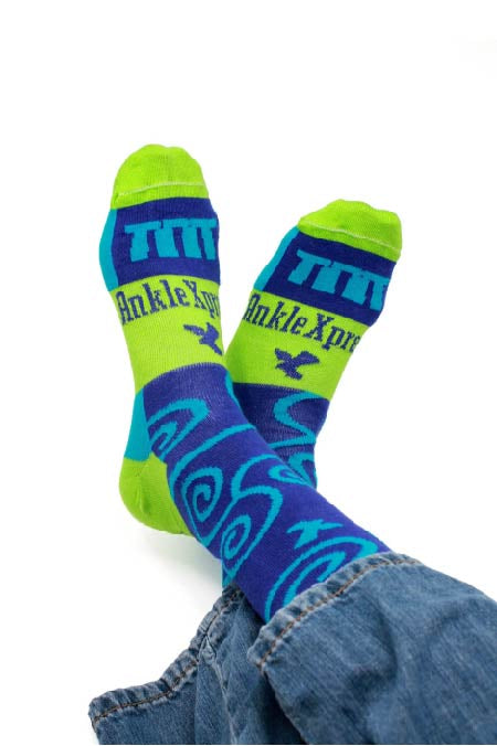Mens Mid-calf Dress Socks, Crazy Socks