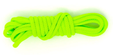 Neon Green 36 inch dress shoelaces, colored laces