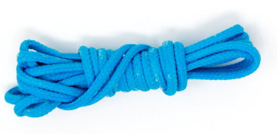 Blue, 36 inch dress shoelaces