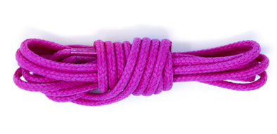 Purple 36 inch dress shoelaces, colored laces