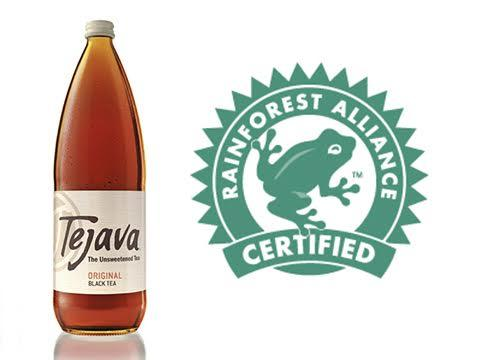 Tejava Rainforest Alliance Certified
