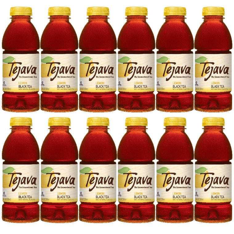 Tejava Lemon Iced Tea Flavor 12-pack