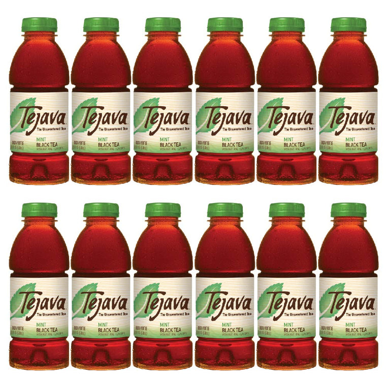 Tejava Mint Iced Tea Flavor 12-Pack
