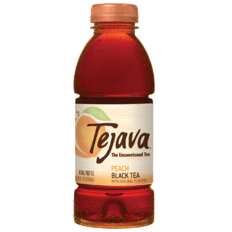 Tejava Peach Iced Tea Flavor 12-pack