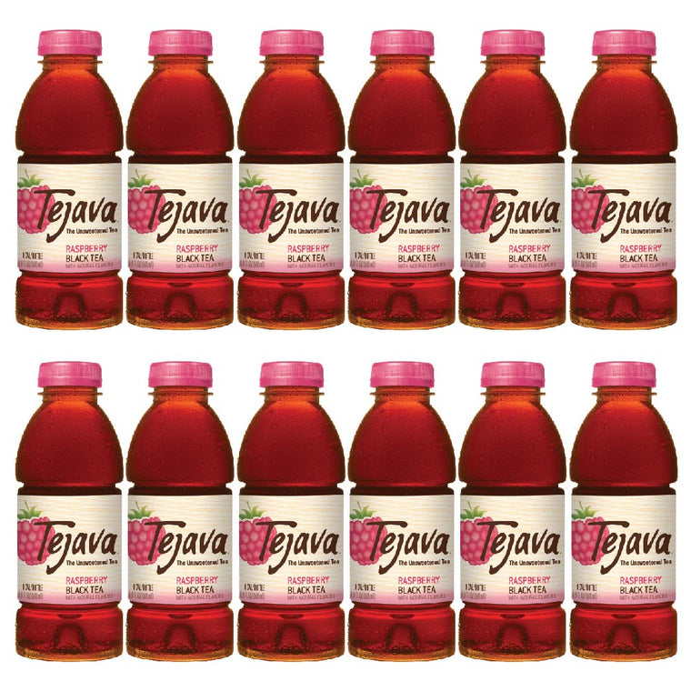 Tejava Raspberry Iced Tea Flavor 12-pack