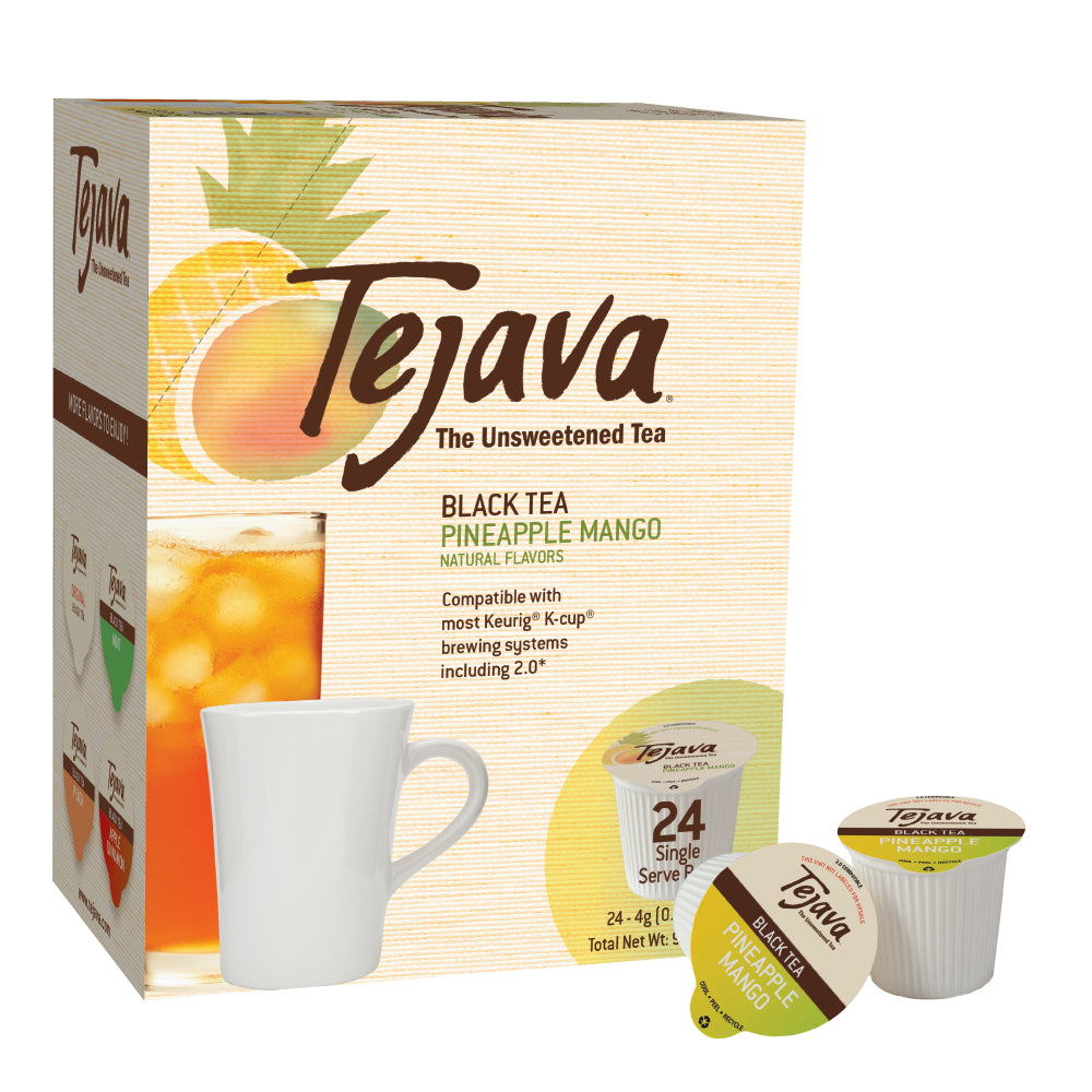 Tejava® Pineapple Mango Tea Keurig® Pods