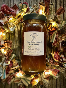 Chai Spice Infused Honey