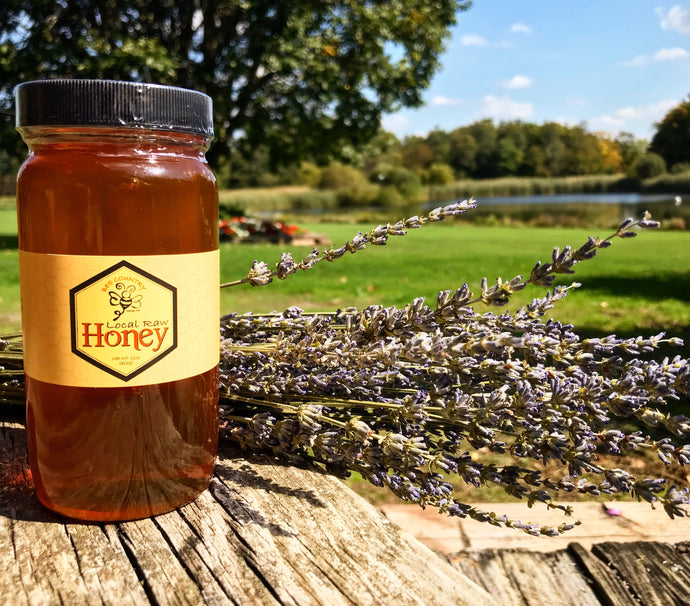 Limited Edition Lavender Infused Honey