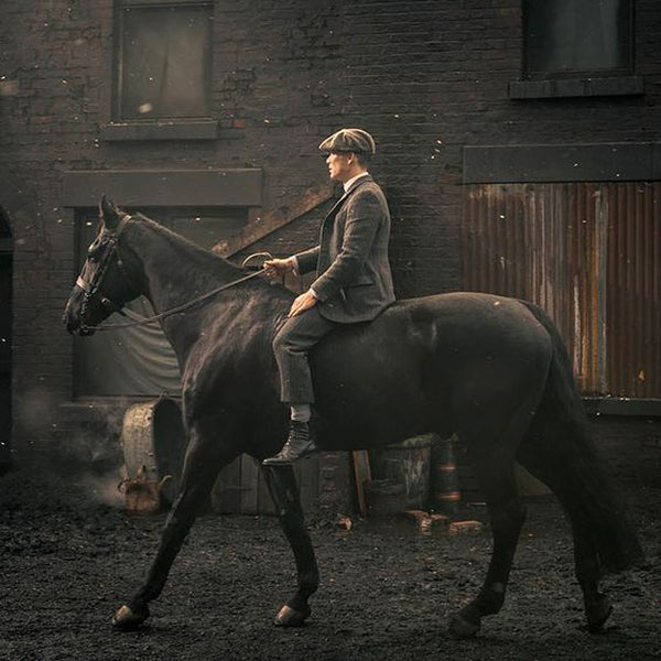 Dusty Black Coat | The Peaky Blinders Collection