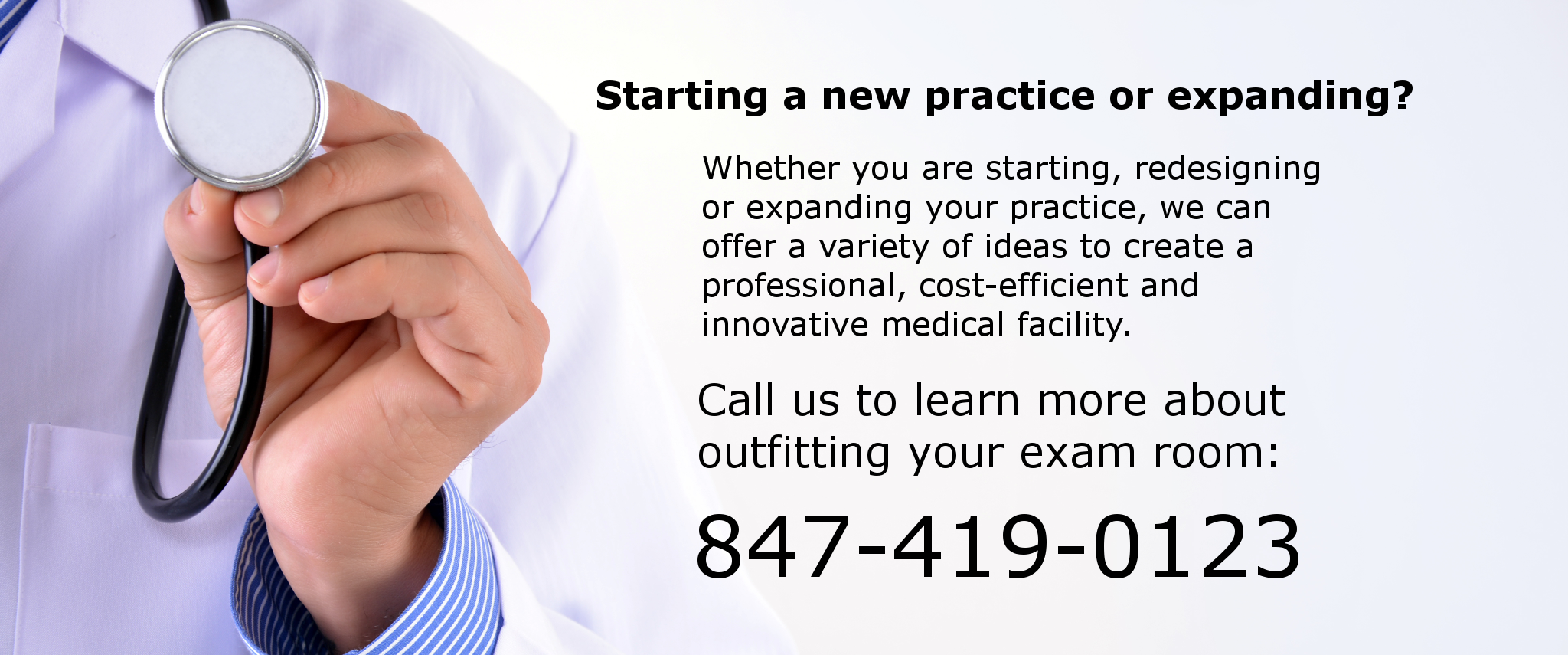 Starting a new practice or expanding?