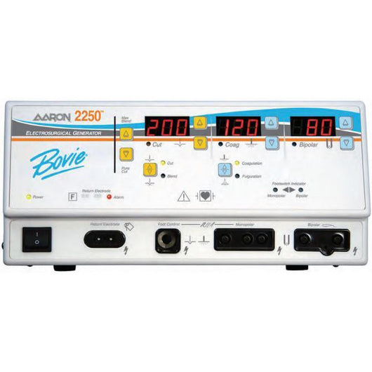 Bovie Aaron 2250 Digital Electrosurgical Generator Refurbished - Alternative Source Medical