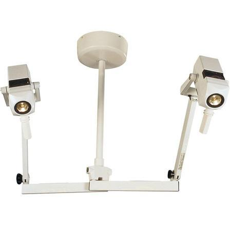 Burton CoolSpot II Examination Light - Double Ceiling Mount - Alternative Source Medical