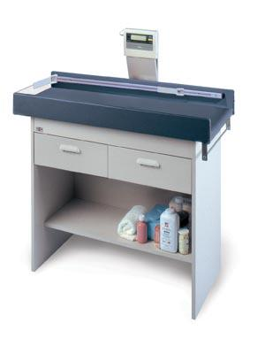 Hausmann 4941 Econo-Line Pediatric Exam Table with Digital Scale - Alternative Source Medical