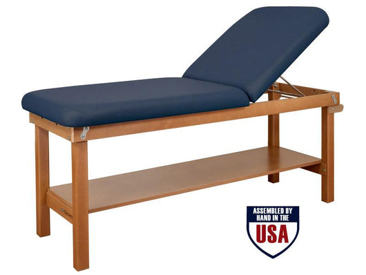 Oakworks Powerline Exam Table with Backrest Top - Alternative Source Medical