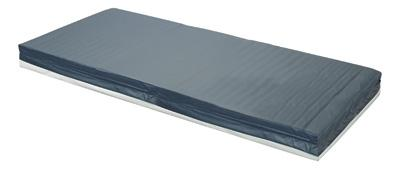 "Lumex 319 Foam Mattress 36"" x 75"" x 6"" with Zipper Cover - 1.6 Density - Alternative Source Medical"