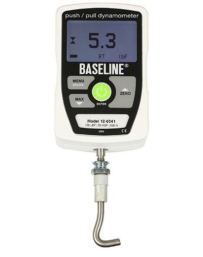 Baseline® MMT - Electronic - Includes 3 Push, 2 Pull Attachments - 100 lb Capacity - Alternative Source Medical