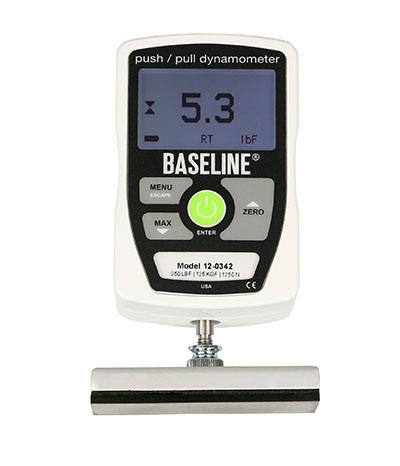 Baseline® MMT - Electronic - Includes 3 Push, 2 Pull Attachments - 250 lb Capacity - Alternative Source Medical