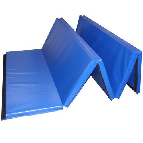 "CanDo® Accordion Mat - 1-3/8"" PE Foam with Cover - 5' x 10' - Alternative Source Medical"