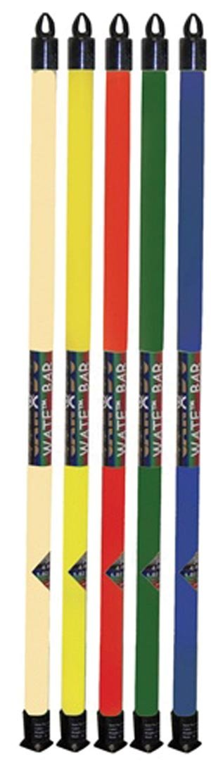 CanDo® Wate Exercise Bars - Bar Sets - Deluxe Set - Case of 16 - 10-1622 - Alternative Source Medical