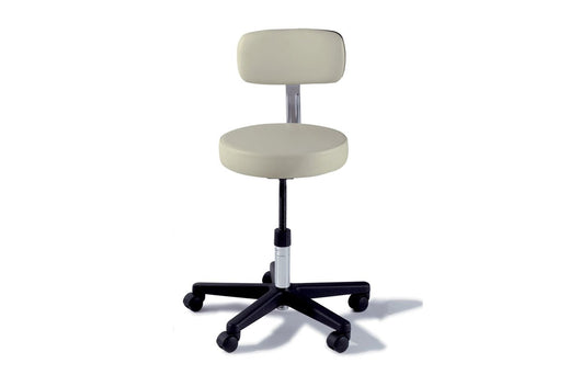Midmark Ritter 271 Manual Adjustable Stool with Backrest - Alternative Source Medical