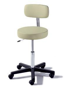 Midmark Ritter 273 Air Lift Stool with Backrest - Alternative Source Medical