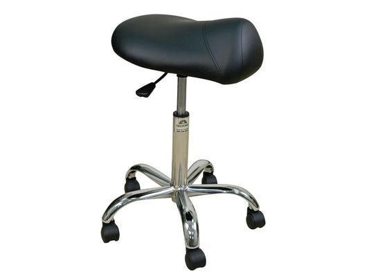 Oakworks Premium Stool with Saddle Seat - Alternative Source Medical