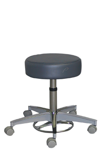 Pedigo Foot Operated Pneumatic Stool Without Backrest - Alternative Source Medical