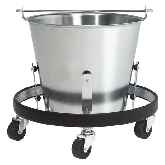 Brewer Stainless Steel Kick Bucket with Frame - Alternative Source Medical