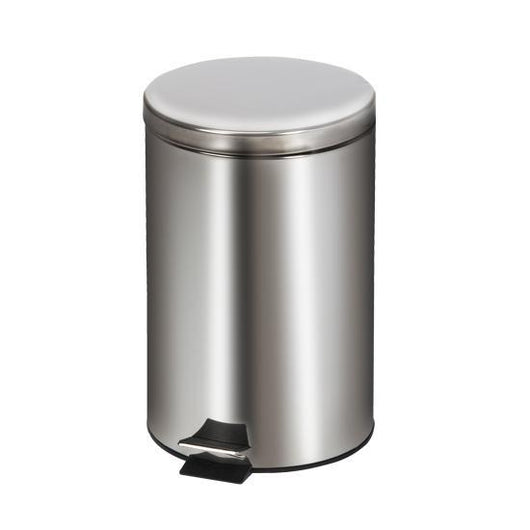 Clinton Medium Round Stainless Steel Waste Receptacle - Alternative Source Medical